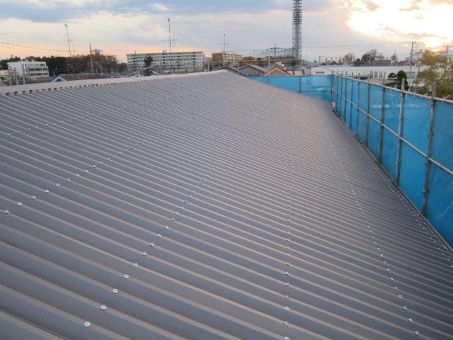 スレート屋根(カバー工法)3