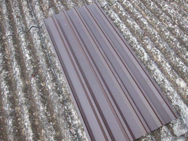 スレート屋根(カバー工法)