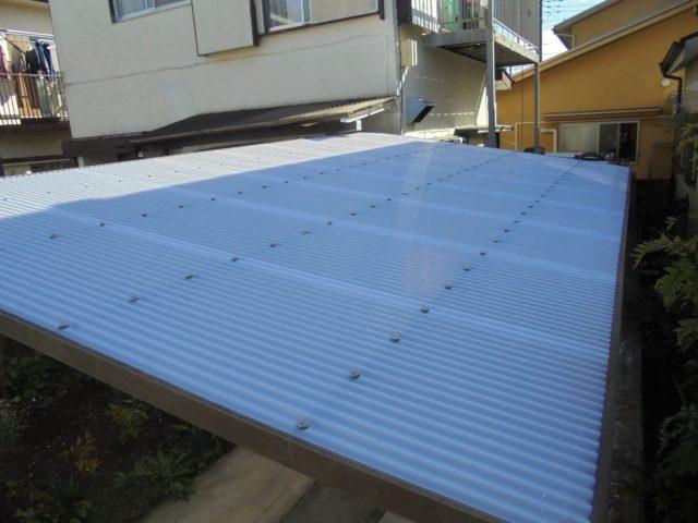 カーポートの屋根3